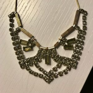Madewell crystal necklace